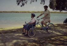 Чоловік вигадав спеціальний велосипед