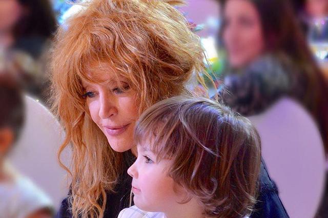 Мама з сином Гаррі
