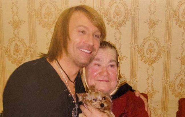 Олег Винник с мамой