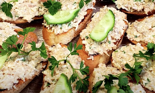 Бутерброд - єврейська намазки