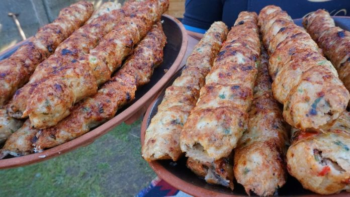 Люля-кебаб по необычному рецепту