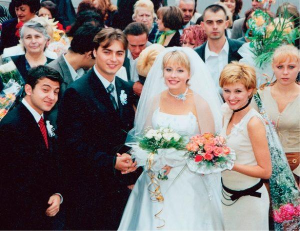 Владимир и Елена Зеленские на свадьбе у Елены и Сергея Кравец
