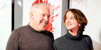Андрей Макаревич с женой Эйнат Кляйн