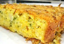 Проста запіканка з капустою і зеленню