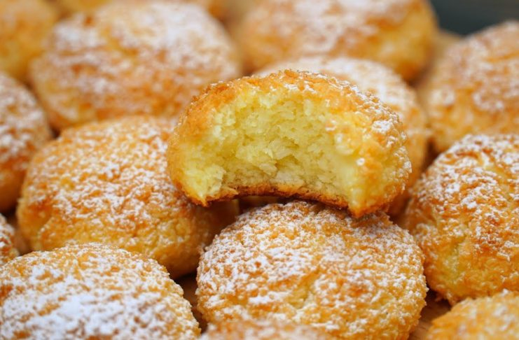 Домашнее печенье из трех ингредиентов