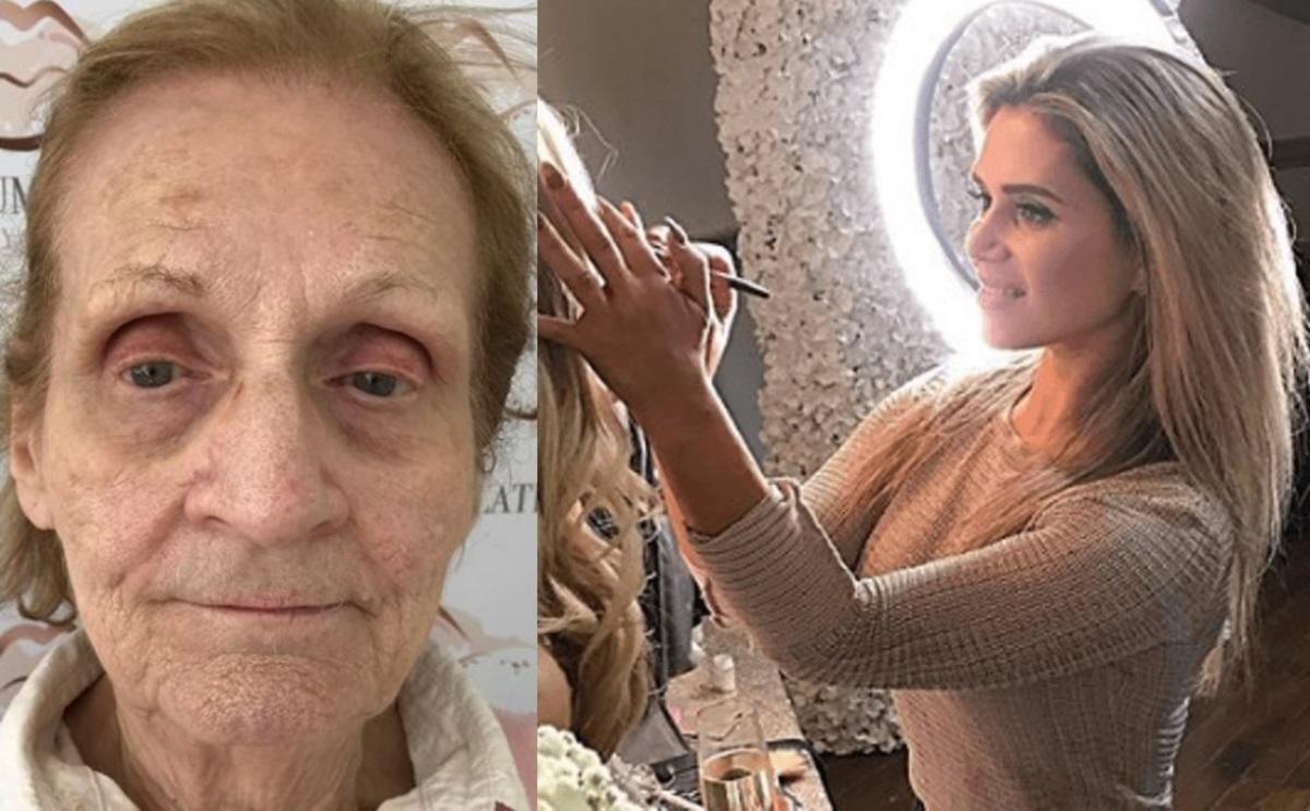 Как макияж изменил внешность 80-летней бабушки? Визажист постарался на славу (ФОТО)