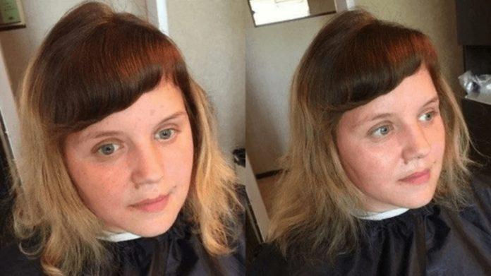 Дівчина хотіла змін, тому звернулася до перукаря