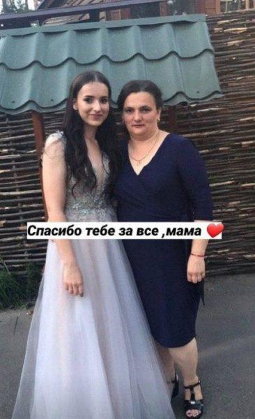 Анастасия с мамой