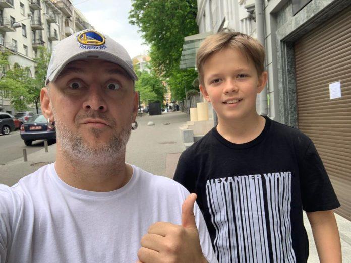 Потап и сын Андрей