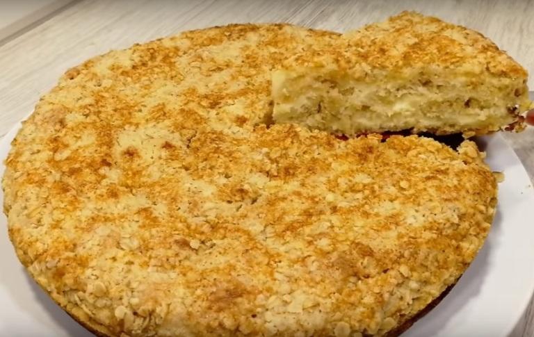 Рецепт пирога за 10 минут