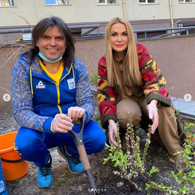 Віталій Борисюк й Ольга Сумська