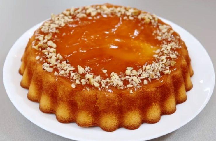 Пирог из простых ингредиентов