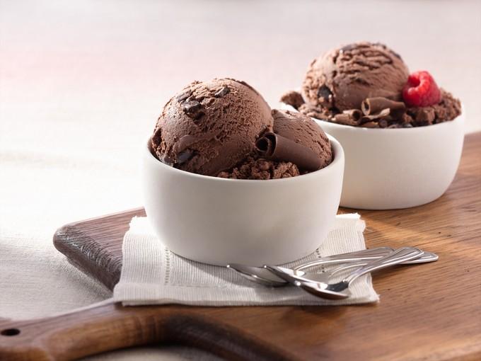 Рецепт шоколадного мороженого