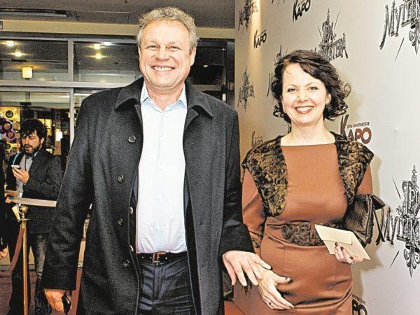 Сергей Жигунов и жена Вера