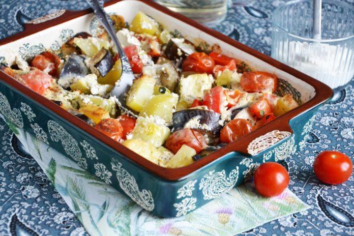 Ароматні овочі в духовці: літній рецепт від Юлії Висоцької