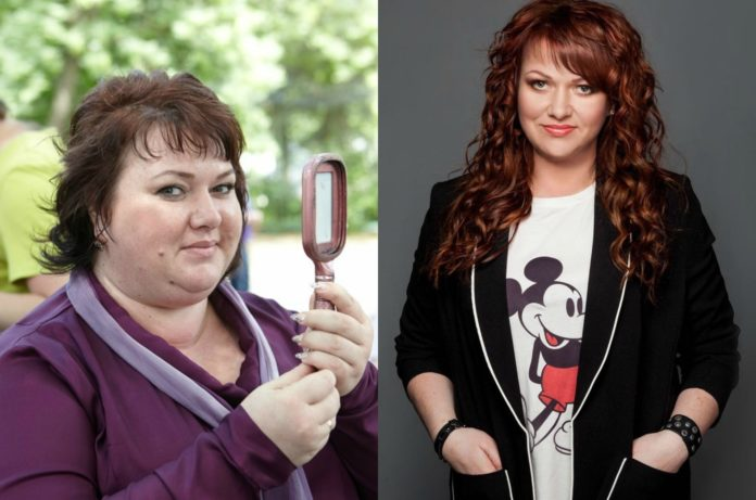Ольга Картункова: до і після схуднення
