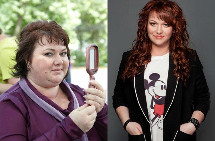 Ольга Картункова: до и после похудения