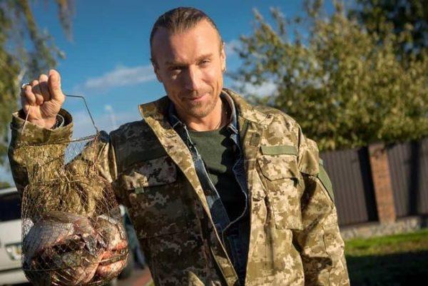 Олег Винник обожает рыбалку