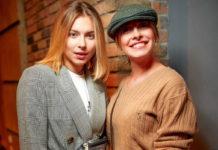 Олена Кравець з дочкою Машею