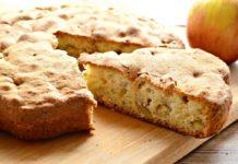 Яблучний пиріг за 20 хвилин