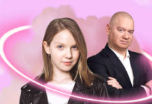 Євген Кошовий з донькою Варею