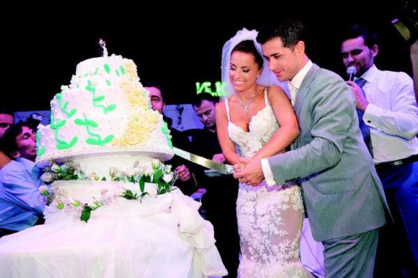 Свадебное фото Ани Лорак