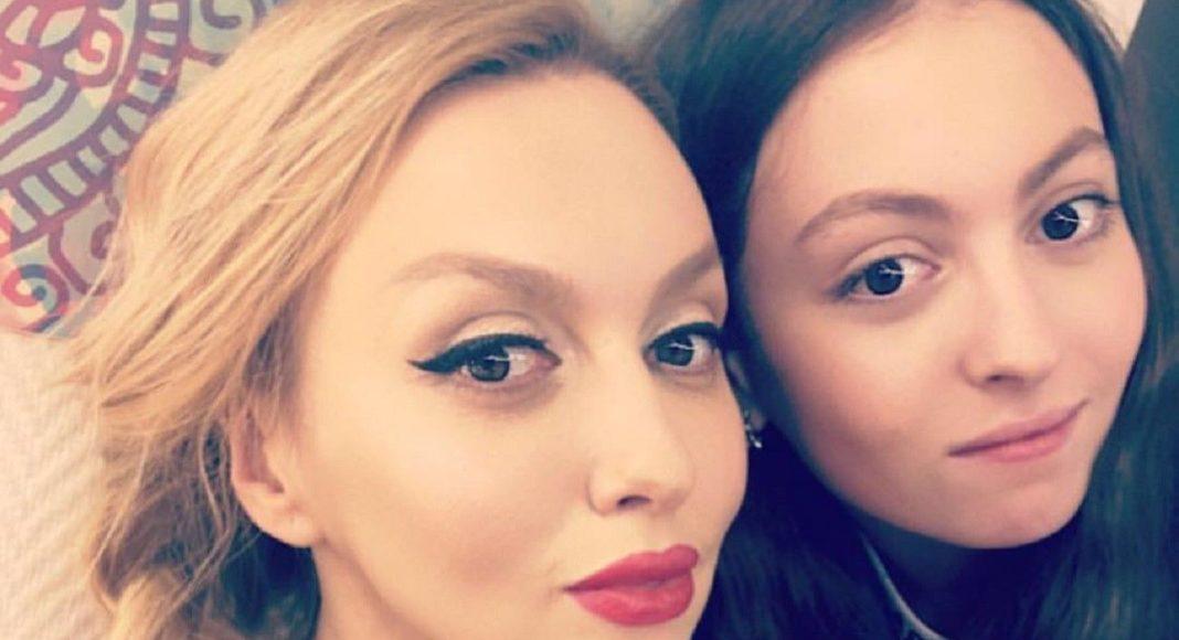 Оля Полякова и ее дочь Мария