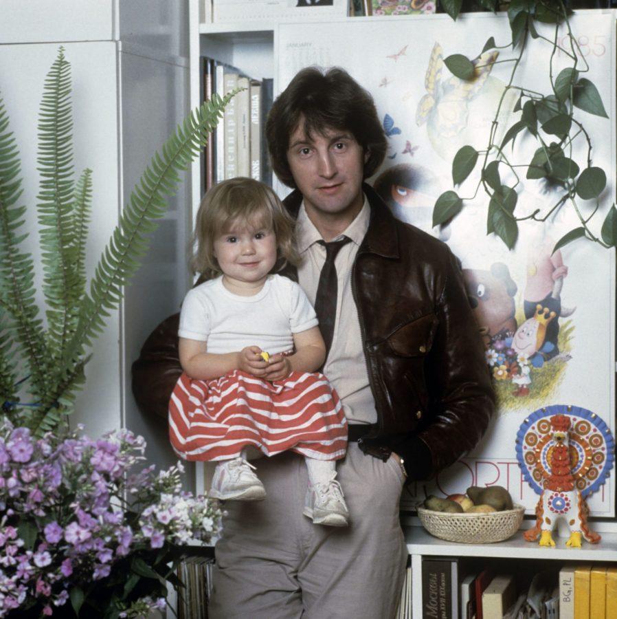Деонід Ярмольник з донькою