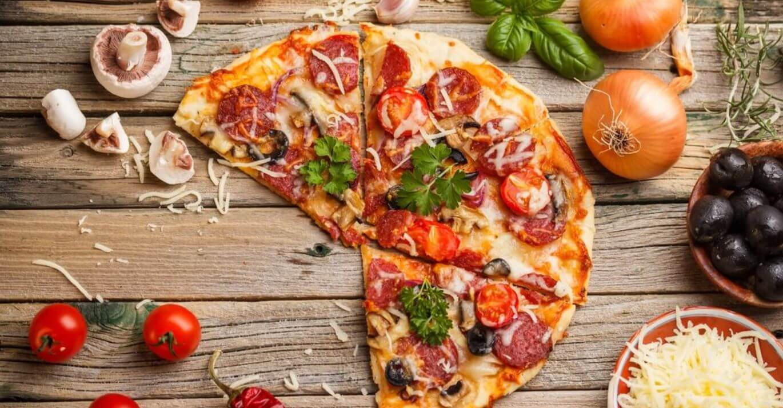 Пицца для большой компании