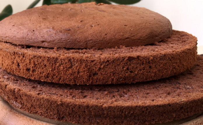 Воздушный шоколадный бисквит для тортов
