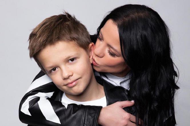 Первая жена и сын Потапа
