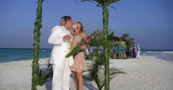 Свадьба Тины и Евгения на Мальдивах