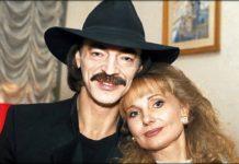 Михайло Боярський з дружиною