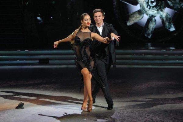 Комаров и Кчеренко на «Танцах со звездами»