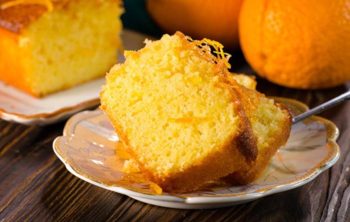 Апельсиновий кекс на сметані за 30 хвилин