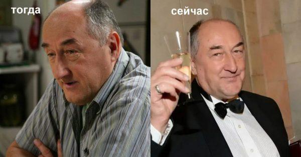 Борис Клюєв тоді і зараз