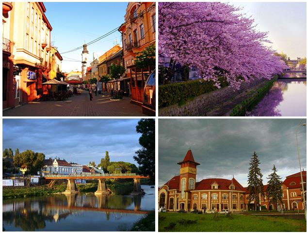 Ужгород - дуже красиве місто, тут росте майже 3000 сакур