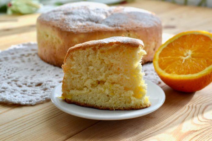 Апельсиновий пиріг за 25 хвилин