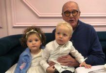 Эммануил Виторган в своем Инстаграме показал дочь на горшке