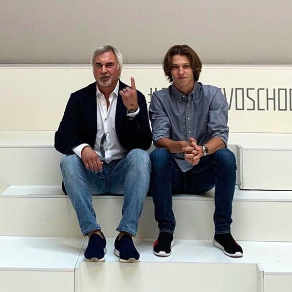 Валерий Меладзе и сын Костя