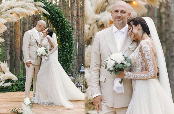 Свадебное фото Насти Каменских