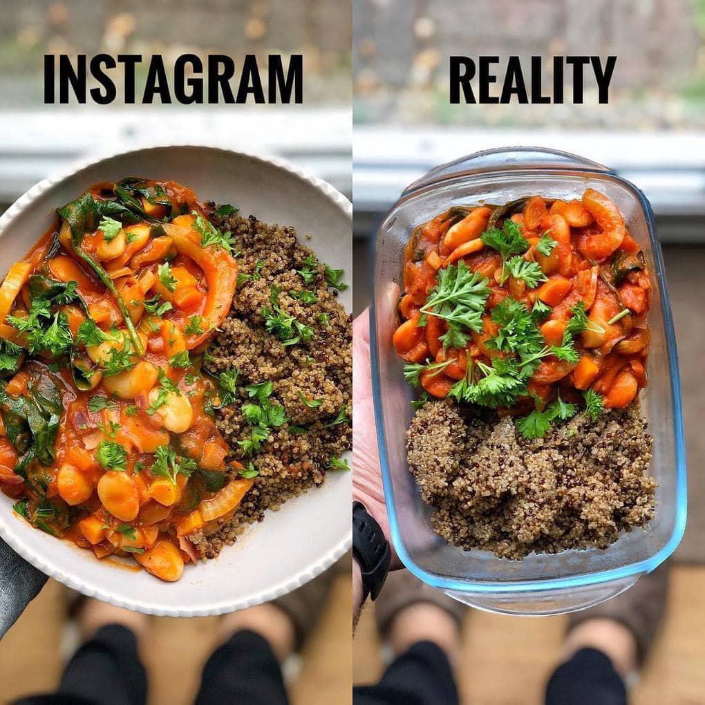 Фото еды не всегда привлекательны