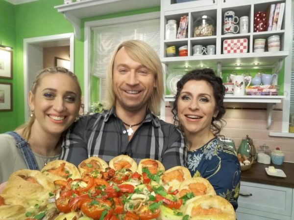 Олег Винник в гостях на кулинарном шоу