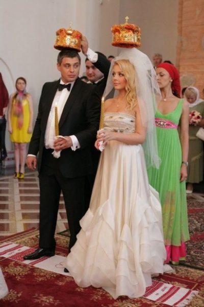 Свадебное фото Тины Кароль и Евгения Огира
