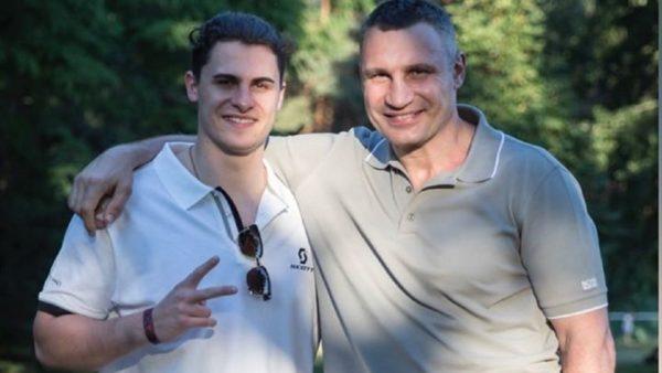 Виталий Кличко с сыном Егором