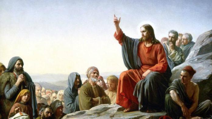 Ісус Христос проповідує