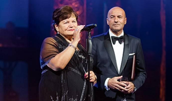 Игорь Крутой с мамой