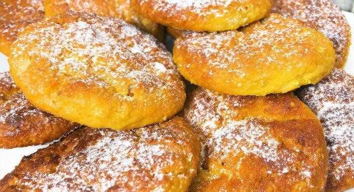 Домашнє печиво з сиру, вівсянки і з родзинками