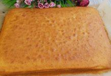 Пирога на кефірі з простих продуктів