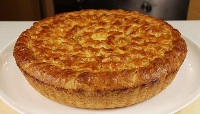 Пиріг з куркою за 30 хвилин